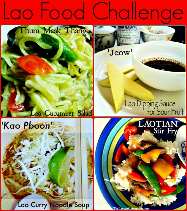 Lao recipe food challenge