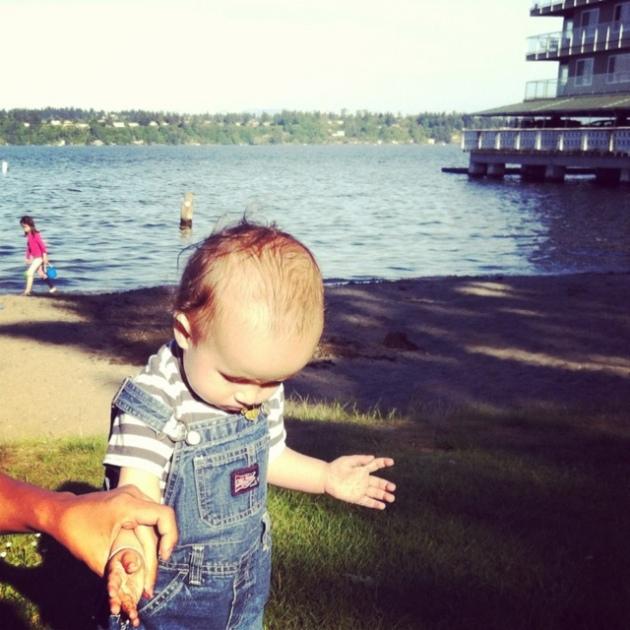 My first Oreo at Madison Park Beach
