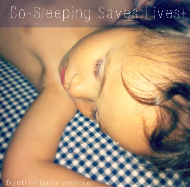 co sleeping saves lives