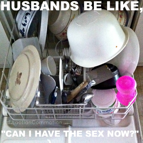 when husbands clean