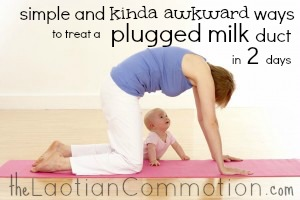 treat a plugged milk duct in 2 days | The Laotian Commotion