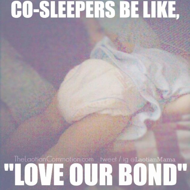 co sleepers be like
