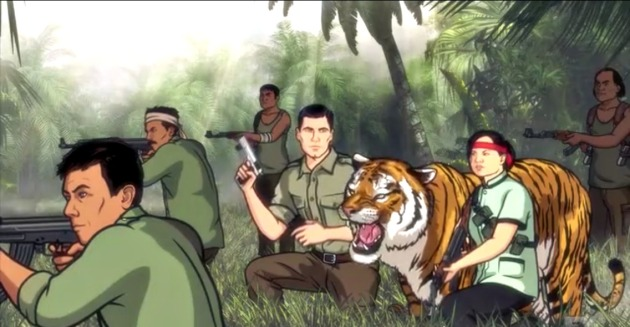 archer invades laos 6 tiger