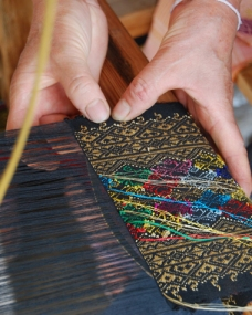 lao weaving loom