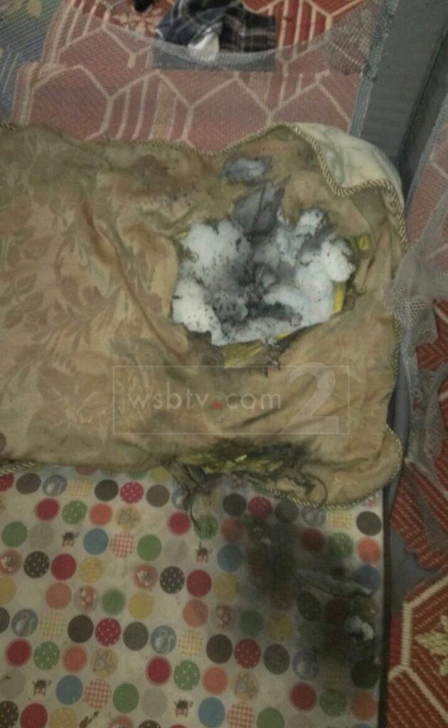 SWAT Team throw a grenade on sleeping baby